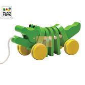 GMP BABY PlanToys原木鱷魚拉車 熱銷 ↘ 800元含運