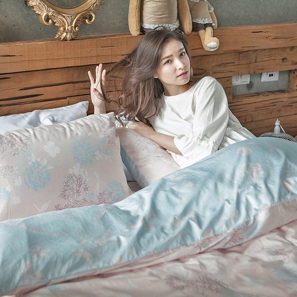 床包兩用被組 / 雙人特大【夢遊愛麗絲】含兩件枕套  100%精梳棉  戀家小舖台灣製