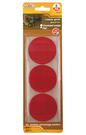 反光圓形貼紙(紅色、螢光橘)