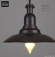 INPHIC- 工業風格復古吊燈美式創意咖啡館酒吧吧台鍋蓋鳥籠單頭吊燈-G款_S197C