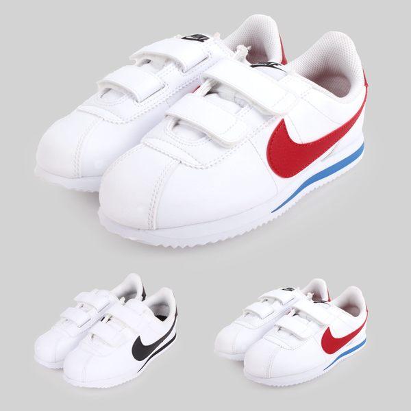 NIKE CORTEZ BASIC SL (PSV) 男女童復古休閒鞋 (免運 阿甘鞋≡體院≡ade