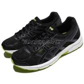 Asics 慢跑鞋 Gel-Contend 4 黑 黃 白底 入門款 舒適緩震 運動鞋 男鞋【PUMP306】 T715N9090