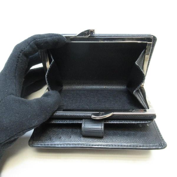 LV 黑色EPI水波紋短夾Wallet Mid 【二手名牌BRAND OFF】