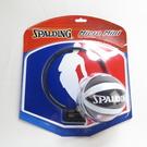 SPALDING NBA隊徽 小籃板 內含小球 SPA77602 約28*24cm 黏貼式籃板也可掛【iSport】