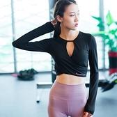 瑜珈服-性感美胸露腰健身女運動上衣3色73rh10【時尚巴黎】