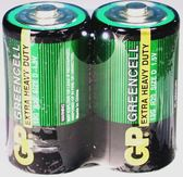 GP電池碳鋅綠色1號 2入