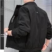 夾克外套 外套男士秋冬季韓版潮流休閒2021新款加絨棒球牛仔夾克秋裝上衣服 伊蒂斯