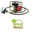 [ 家事達 ]FKV-160R  羅敏引擎-6M軟管抽水機 (附框+聯軸器)   特價 ROBIN EY20 引擎