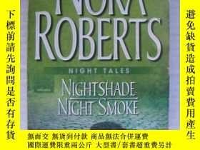 二手書博民逛書店Nightshade罕見& Night Smoke( ,兩個故事