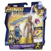 復仇者聯盟3 無限之戰 6吋豪華人物&無限寶石 火箭浣熊&格魯特 TOYeGO 玩具e哥