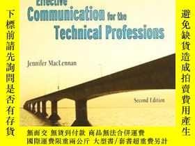 二手書博民逛書店Effective罕見Communications For Th