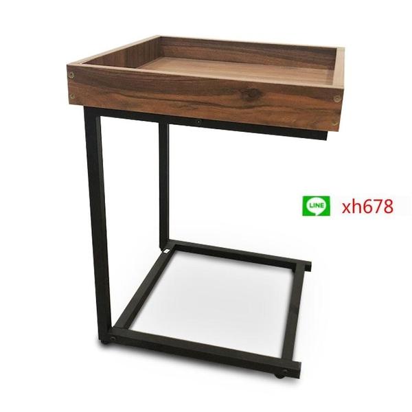 跨境外貿角幾邊幾沙發邊櫃客廳小茶几臥室創意床頭桌子多功能茶桌【頁面價格是訂金價格】