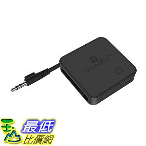 [107美國直購] 適配器 Soundbot SB336 TX/RX Universal Wireless Bluetooth Stereo Transmitter Receiver