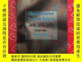 二手書博民逛書店obiect-Oriented罕見Problem Solving