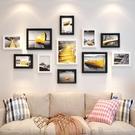 相框創意掛墻組合7 10寸簡約實木畫框擺台洗照片加相框照片墻裝飾 印巷家居