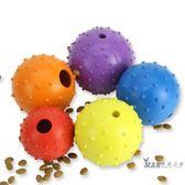 寵物玩具 寵物玩具 狗狗玩具 寵物漏食球鈴鐺球金毛泰迪磨牙潔齒耐咬玩具 雙12購物節