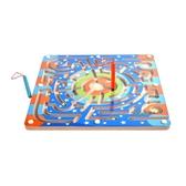 兒童益智玩具3-4-6周歲磁性走珠迷宮