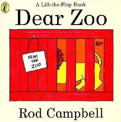 『童書久久書單』『繪本123‧吳敏蘭老師書單』--DEAR ZOO/ 硬頁書《幼兒操作.動物.趣味》2月中到貨