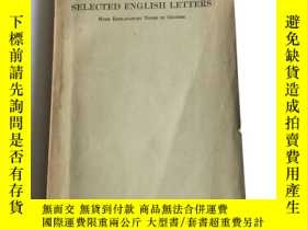 二手書博民逛書店罕見增註英語尺牘選1928Y433789