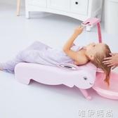 洗頭椅兒童洗頭躺椅洗頭神器可折疊嬰兒寶寶洗頭床大號加寬孩子洗頭椅時尚新品