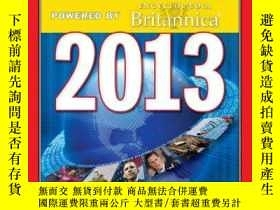 二手書博民逛書店TIME罕見Almanac 2013: Powered by E