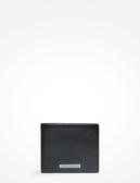 美國代購 現貨 AX ARMANI EXCHANGE 黑色 牛皮 短夾