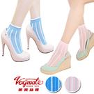 【衣襪酷】華貴 日韓流行立體條紋時尚緹花短襪 馬卡龍色系《花邊/踝襪/少女襪/花朵》