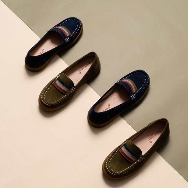 3M專利防潑水 山裡的法國厚底鞋。Bubble Nara波波娜拉。超輕0.4kg,一蹬套穿懶人輕便鞋MAA2626