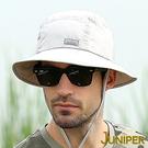 防曬帽漁夫帽子-戶外抗UV防潑水吸濕排汗...
