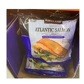 [COSCO代購 需低溫宅配] 促銷到1月29日 C1286092 Kirkland Signature科克蘭 冷凍鮭魚排 1.36公斤