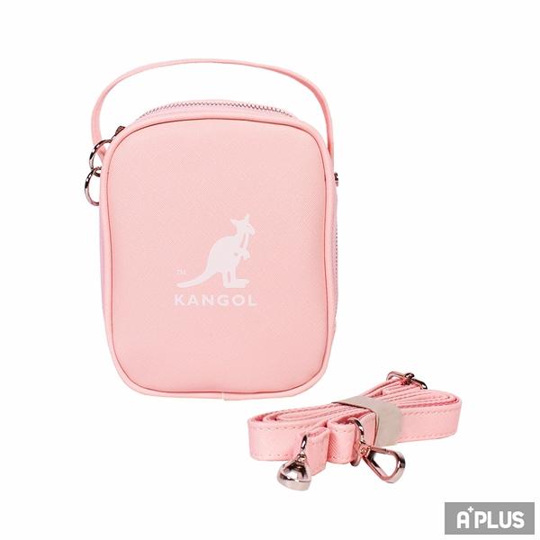 KANGOL 包 BAG 英國袋鼠 小方包 十字紋皮革 斜背包 - 6055301241