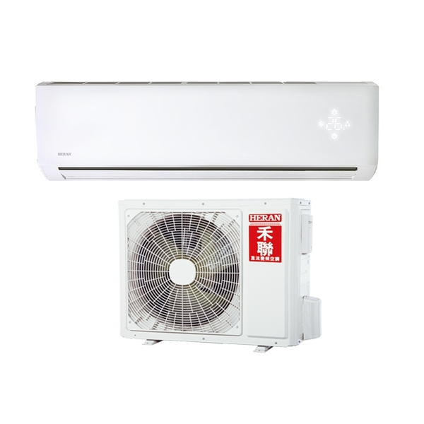 本月超低價1組【禾聯冷氣】5.0KW 7-9坪 一對一變頻冷暖空調《HI/HO-NP50H》5級節能 壓縮機10年保固