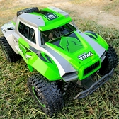 遙控汽車 超大號遙控汽車四驅越野車兒童電動仿真高速攀爬車男孩玩具