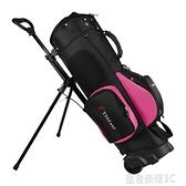 高爾夫球包 TTYGJ高爾夫球包 拖輪球包 拉桿滑輪雙肩背支架包球袋 標準包YTL 年終鉅惠