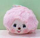 【震撼精品百貨】monchhichi_夢奇奇~絨毛頭娃娃~粉色#24820