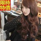 長假髮-浪漫蓬鬆逼真捲髮女美髮用品3色6...