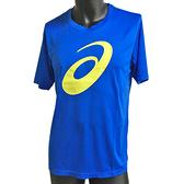 Asics T-Shirts [K11908-49] 男女 短袖 T恤 運動 排汗 吸濕 快乾 柔軟 舒適 台灣製 藍
