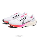 NIKE 慢跑鞋 ZOOM PEGASUS 38 小飛馬 白粉 黑勾 訓練 女 (布魯克林) DJ5401-100