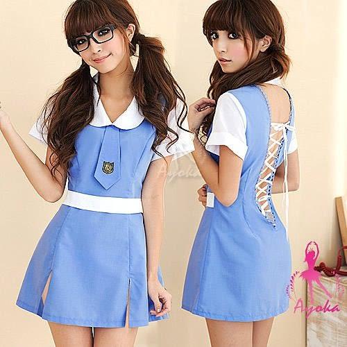 【愛愛雲端】青澀歲月!二件式 護士 學生服 NA10030072