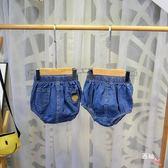 男女寶寶短褲夏季嬰幼兒童小童牛仔褲子三角包屁褲面包褲南瓜褲潮