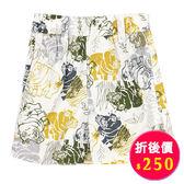 【愛的世界】河馬鬆緊帶純棉短褲/1~4歲-台灣製- ★春夏下著