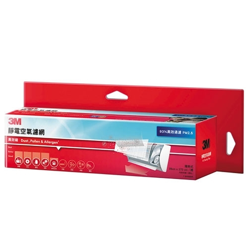 3M 高效級捲筒式靜電空氣濾網【愛買】