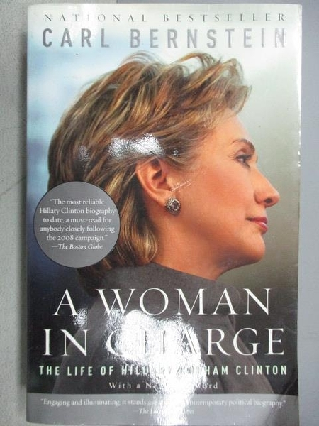 【書寶二手書T1/傳記_MOF】A Woman In Charge-The Life of Hillary Rodbam Clinton