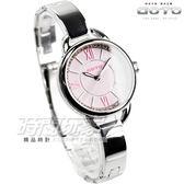GOTO 閃耀晶鑽羅馬簡約腕錶 不銹鋼 女錶 粉 GS1377L-2S-821