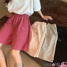 熱賣運動短褲 短褲女夏季寬鬆韓版高腰運動休閒百搭2021新款居家瑜伽睡褲潮 coco