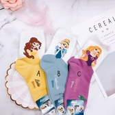 韓國進口襪子 迪士尼公主系列 單雙 美女與野獸 貝兒 Bella