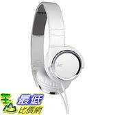 [東京直購] JVC 頭戴式立體聲耳機 HA-S400-W 白色 可摺疊