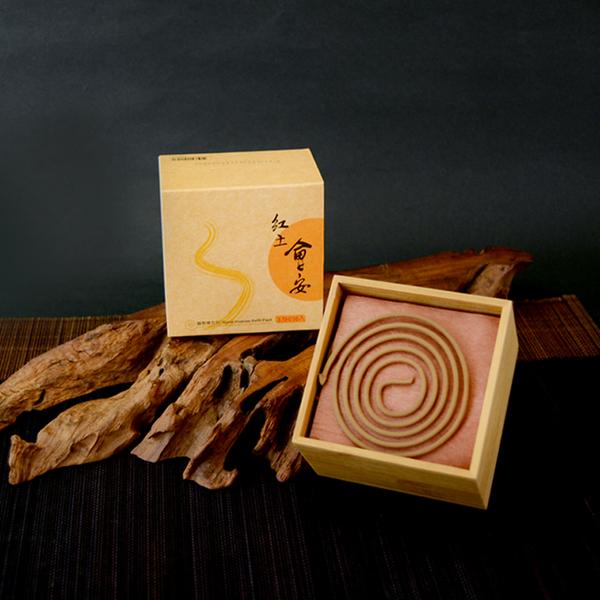 【富山香堂】紅土會安3.5h盤香補充包-//香氛//禮品禮盒//薰香//線香