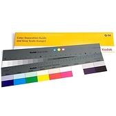又敗家@美國KODAK柯達專業17標準色卡色階卡+20灰階卡Q-13(2片裝)校色板商業攝影校色卡Color Guide