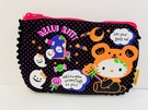 【震撼精品百貨】Hello Kitty 凱蒂貓~Hello Kitty 凱蒂貓化妝包-黑南瓜